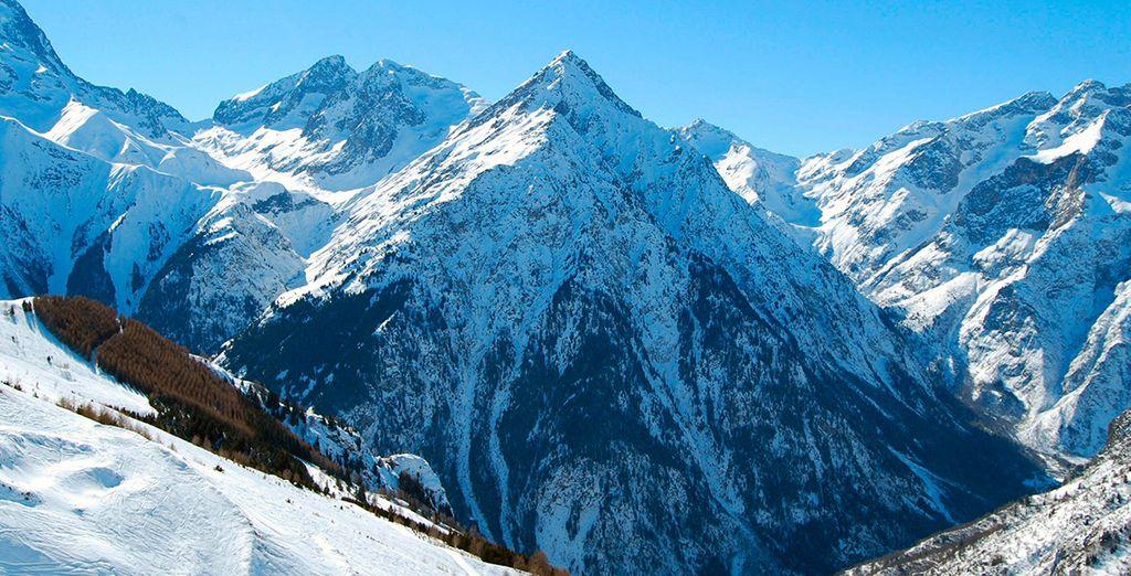 Bienvenido a los Alpes franceses