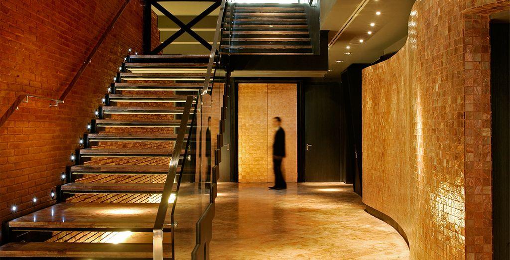 Interiores de diseño zen y una elegante decoración minimalista