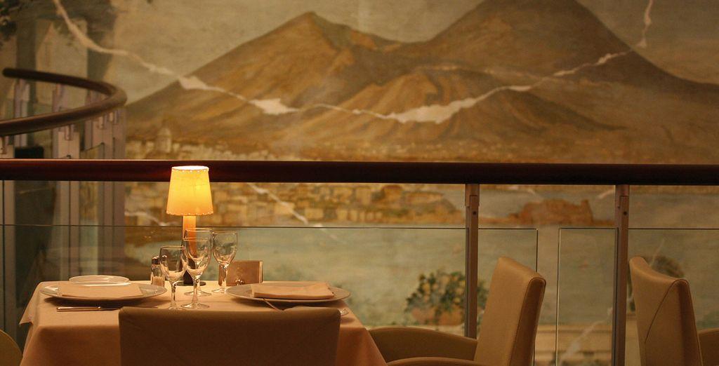 Deguste especialidades napolitanas y marisco fresco