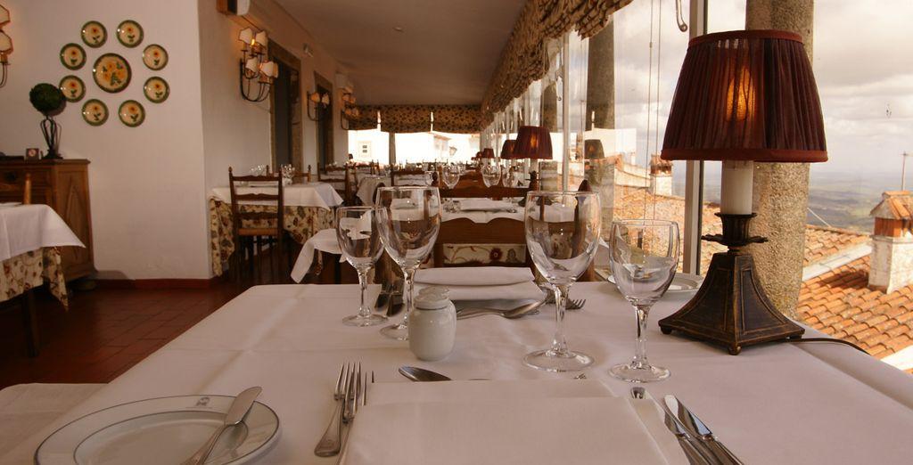 El restaurante sirve la mejor gastronomía tradicional
