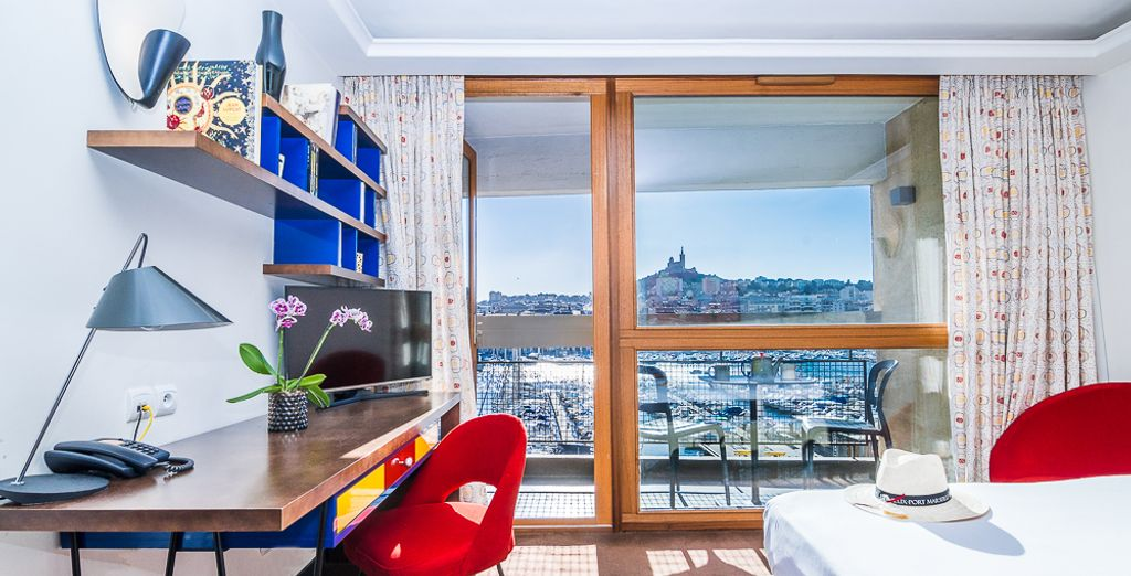 O en la agradable Habitación Deluxe Prestige con Vistas al Mar