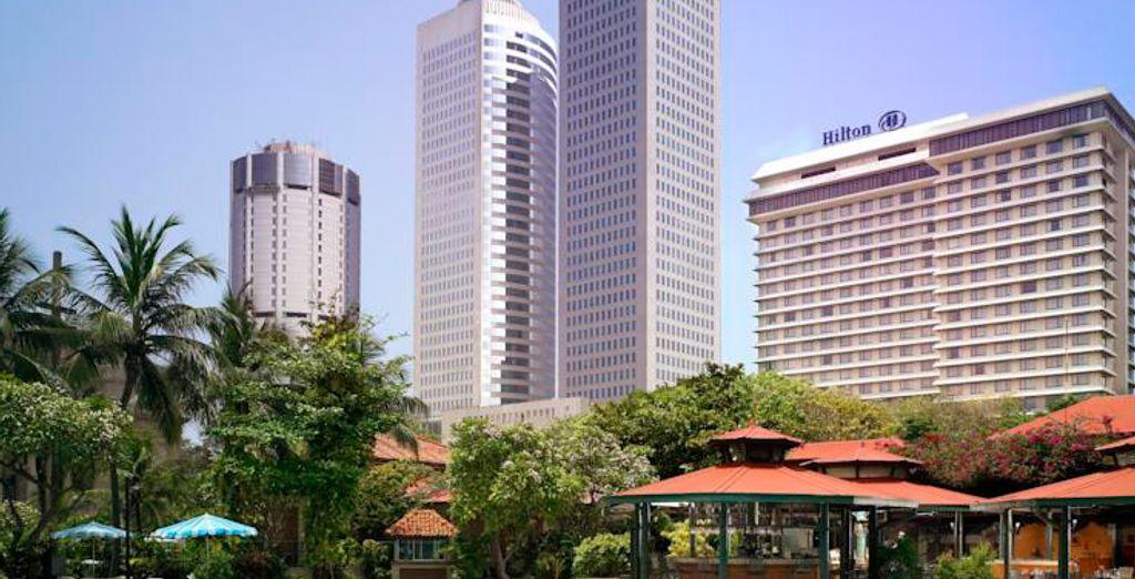 Bienvenido al hotel Hiltón Colombo 5*