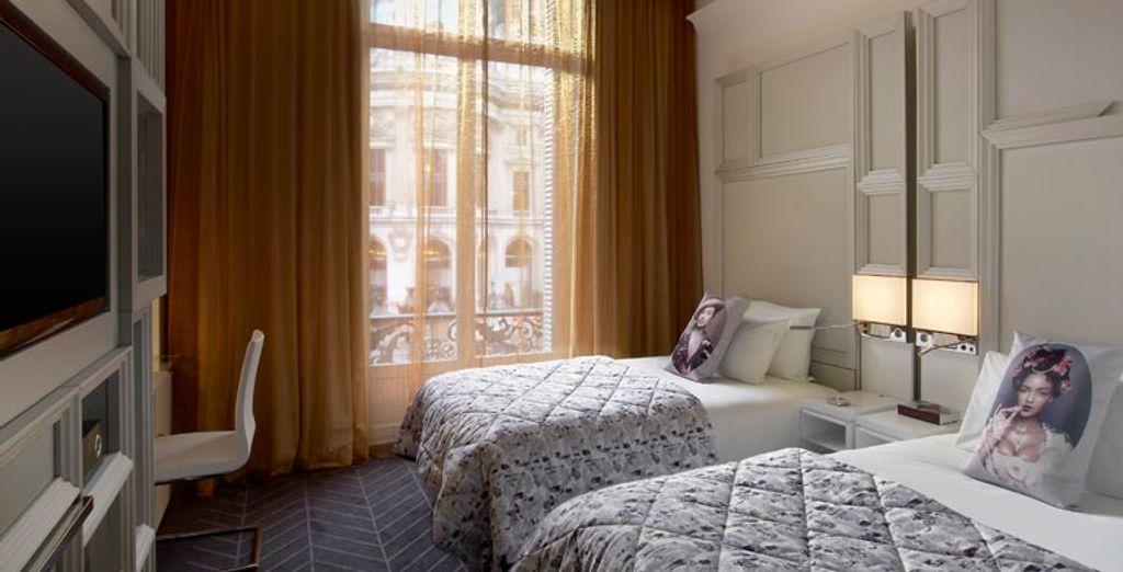 Descansarás en una habitación Spectacular