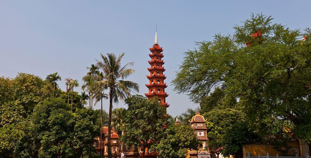La Pagoda Quan Tran Quoc, un importante símbolo para los habitantes de Hanói