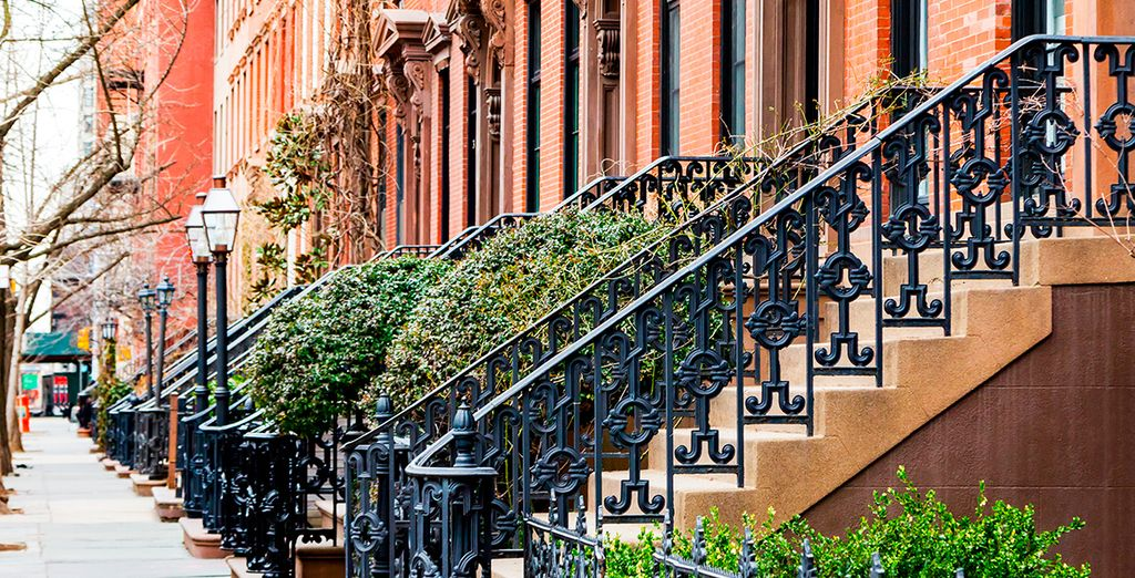 La tranquilidad de Greenwich Village
