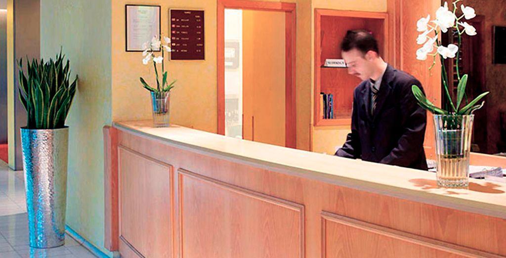 El Hotel Brussels también le alojará perfectamente