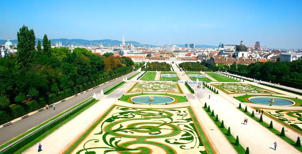 Recorra las maravillas de Viena