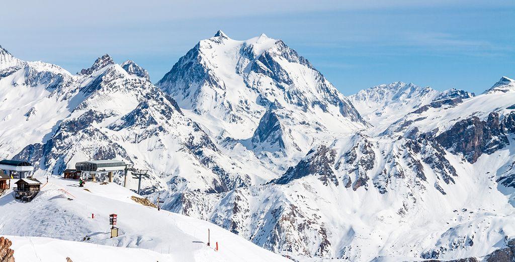 Hotel La Sivolière 5* se ubica en Saboya, en el valle de Tarentaise, en los Alpes franceses