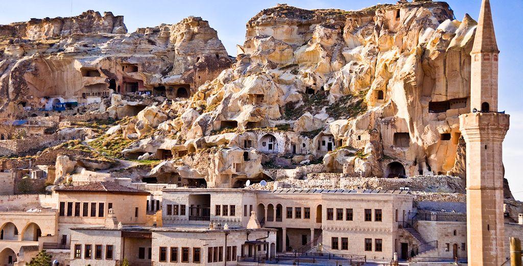 Ürgüp, una ciudad que le dejará maravillado