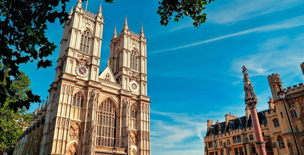 La abadía de Westminster te encantará