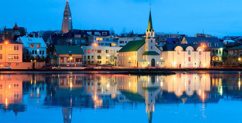 Un viaje que comenzará en la sosegada Reykjavik