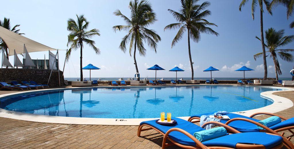 Bienvenido a Jacaranda Indian Ocean Beach Resort 4*