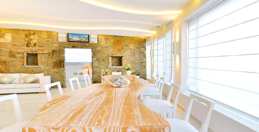 Un look fresco para un hotel típicamente griego