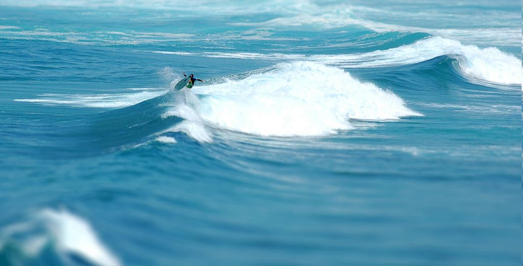 Un lugar indicado para preacticar surf