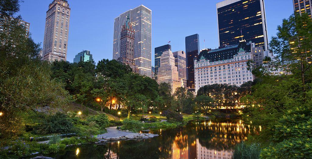 Adéntrese en el impresioante Central Park