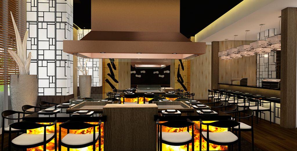 El Restaurante Japonés Sakura es una buena opción para una cena dentro del Meliá Varadero
