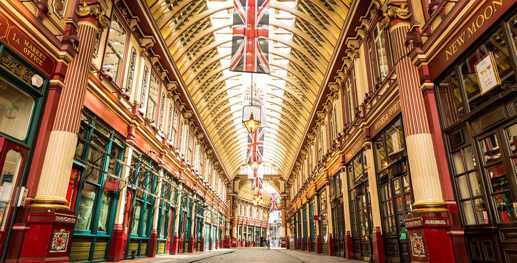 Sucumbe al encanto londinense