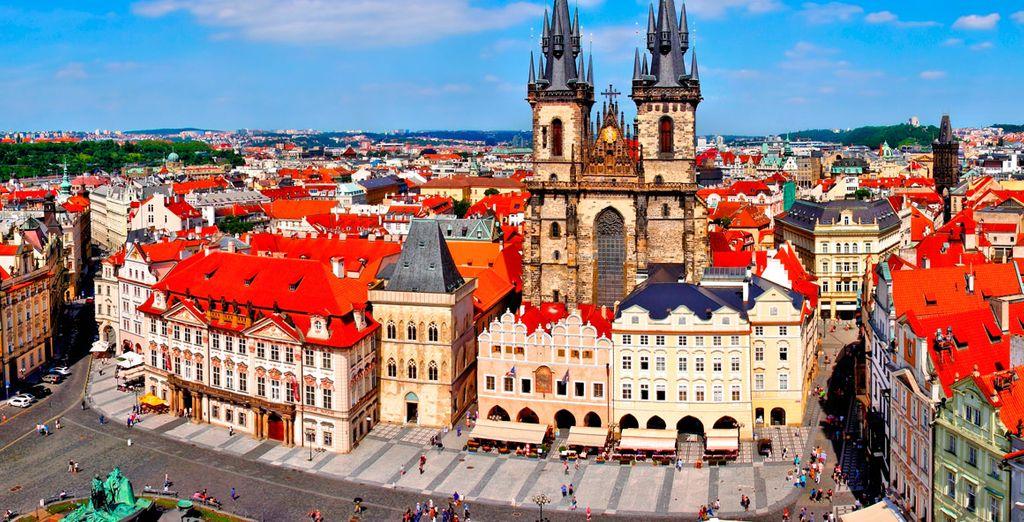 La imponente Iglesia de Nuestra Señora de Týn, un impresionante lugar de culto