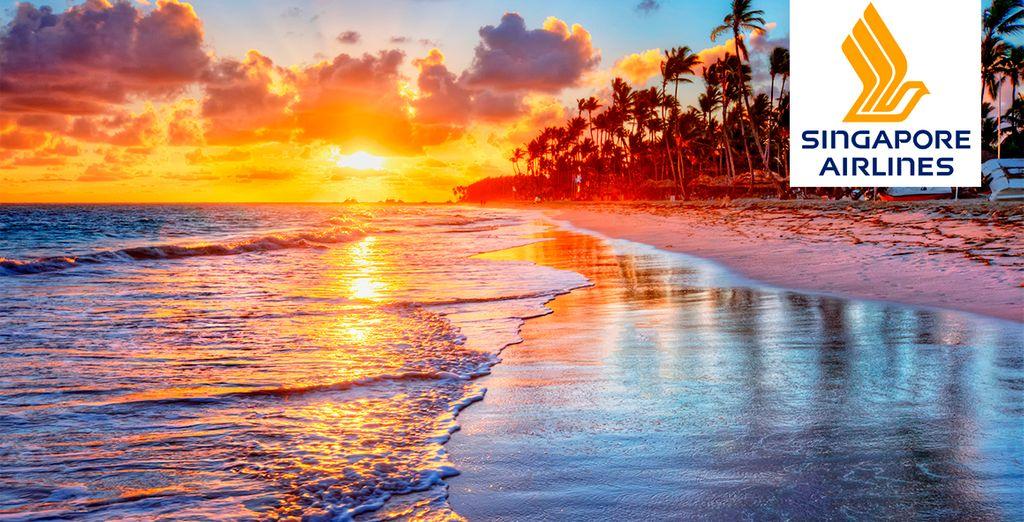 Una ubicación privilegiada de la famosa playa de blanca en Boracay