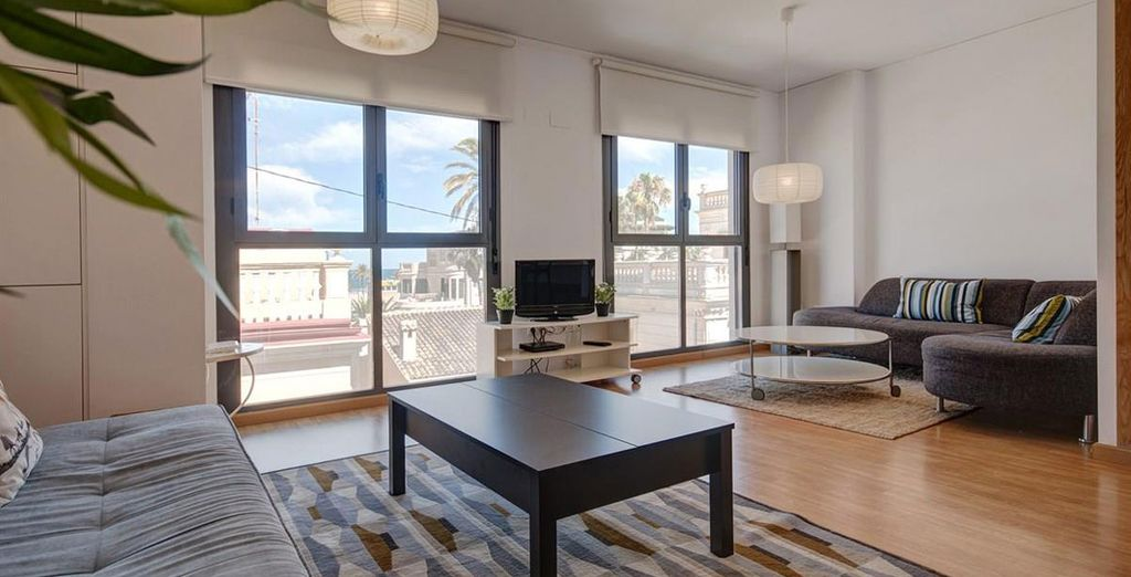 Apartamento 3: el salón