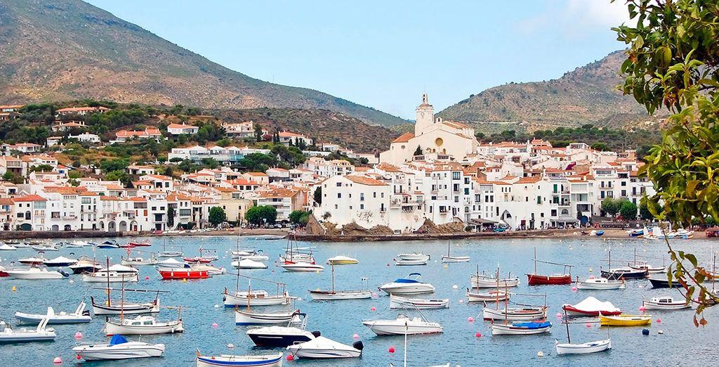 Descubre los alrededores de Peralada, como Cadaqués