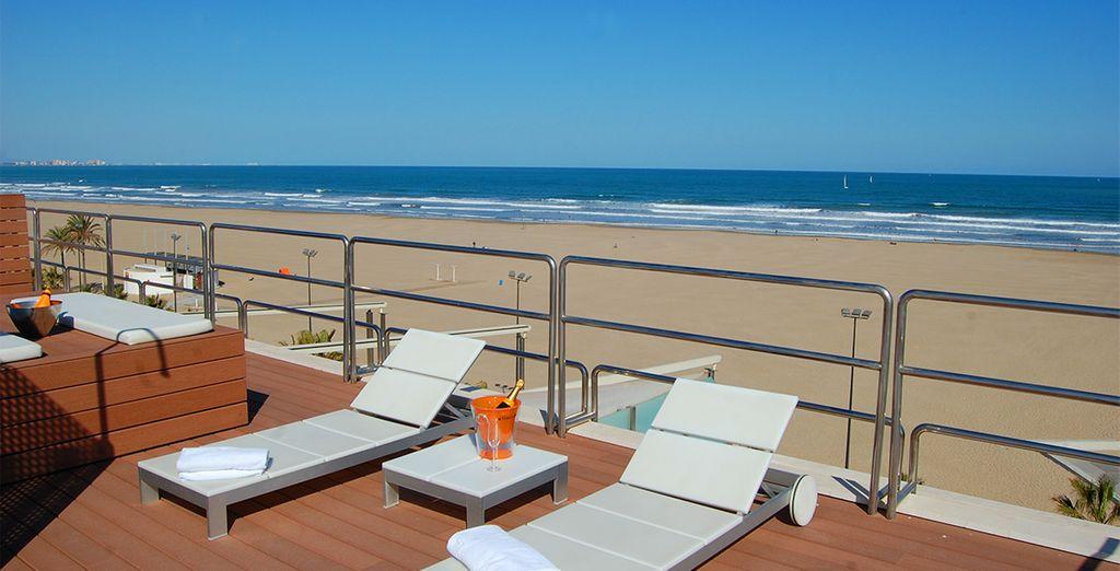 Un hotel urbano en la playa de Valencia