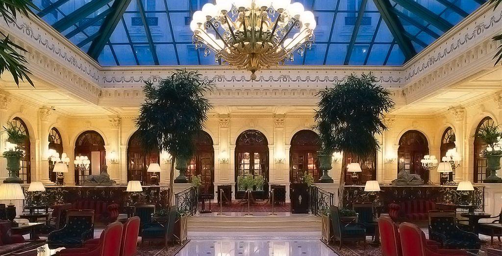 Bienvenido al Intercontinental Paris Le Grand