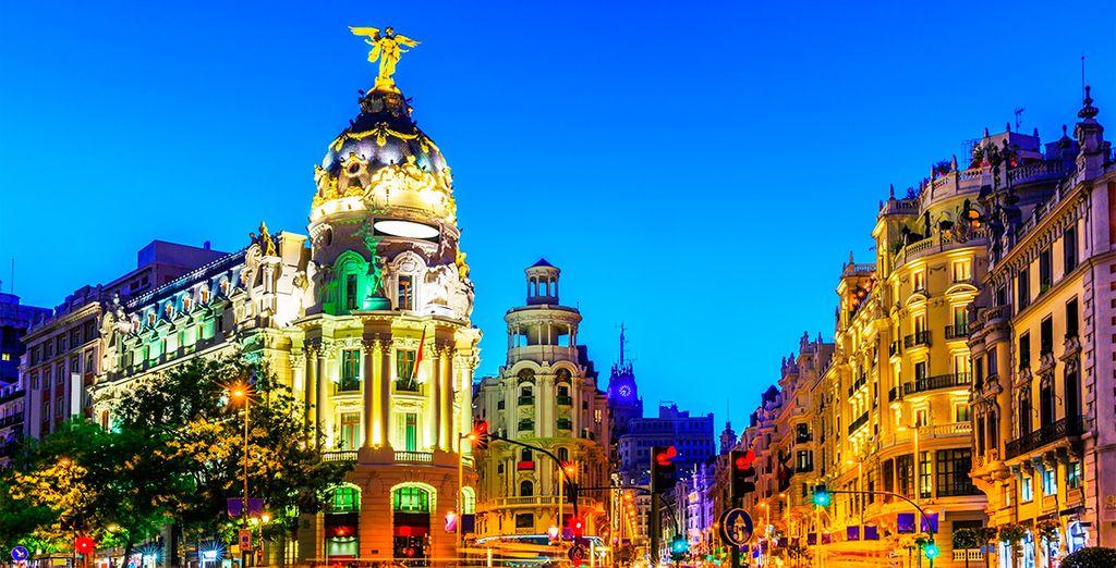 Madrid, una ciudad llena de vida y energía