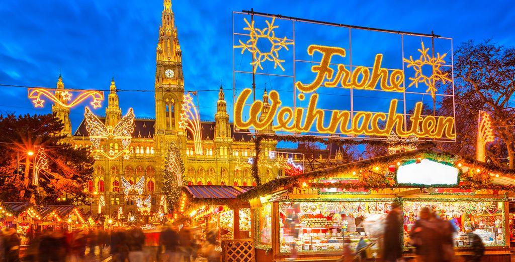 Disfrute de los maravillosos mercadillos de Navidad