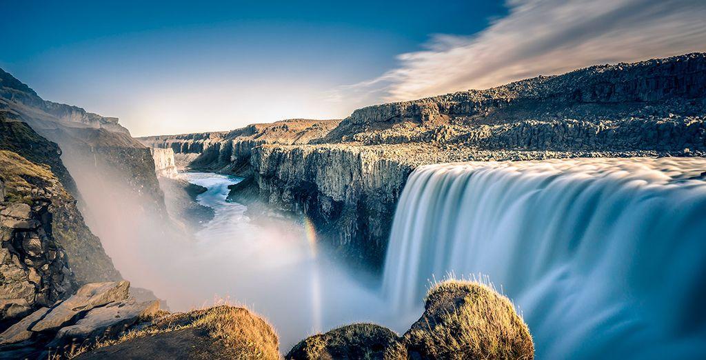 Dettifoss es la catarata más caudalosa de Europa