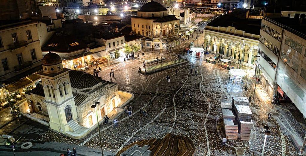 Los mejores hoteles para un viaje a Atenas