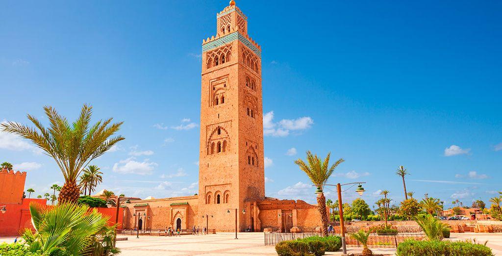 Y contempla la arquitectura marroquí ¿Nos vamos?