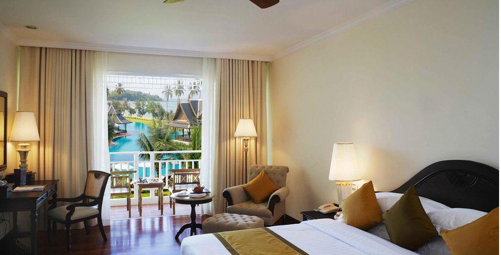 Una amplia estancia para su visita a Krabi