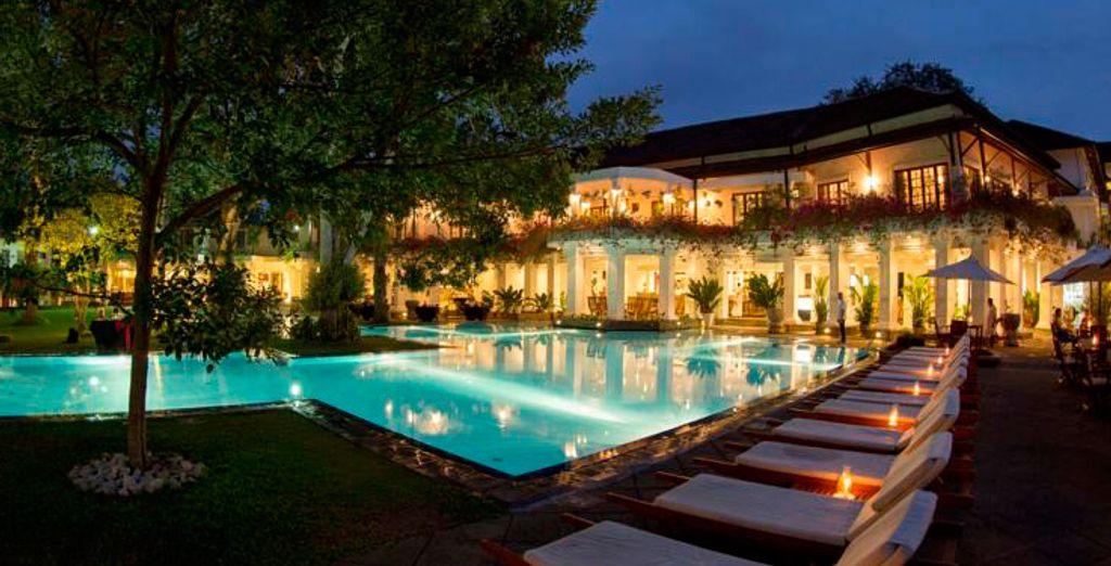 Las noches en Kandy siempre son especiales