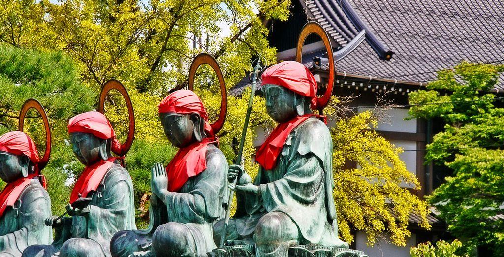 El noveno día tendrás opción a reservar una visita opcional a la ciudad de Nagano