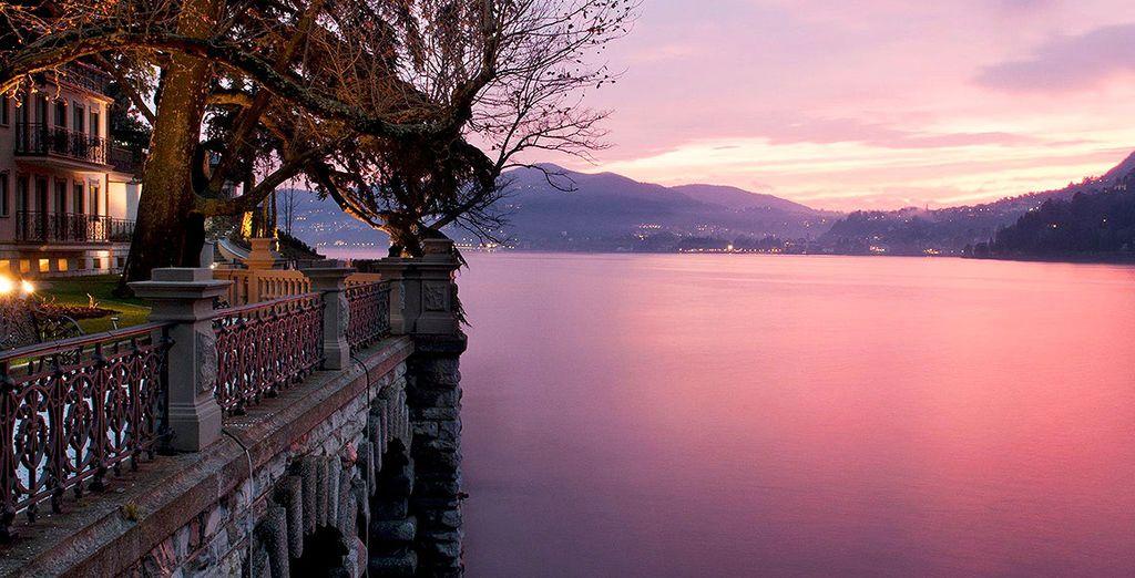 Dans la féérie romantique du lac de Côme