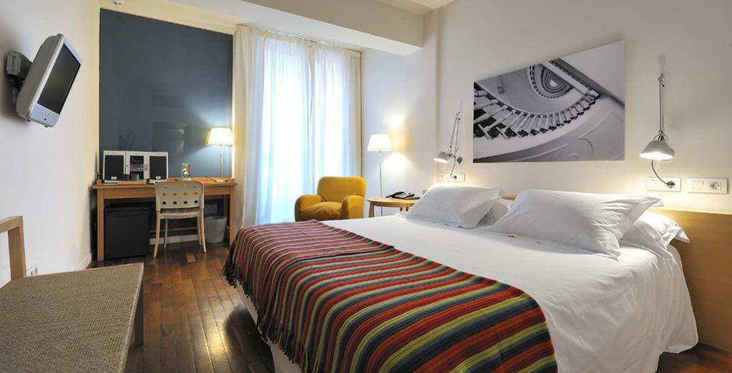 Posez vos valises dans votre chambre pour de douces nuits