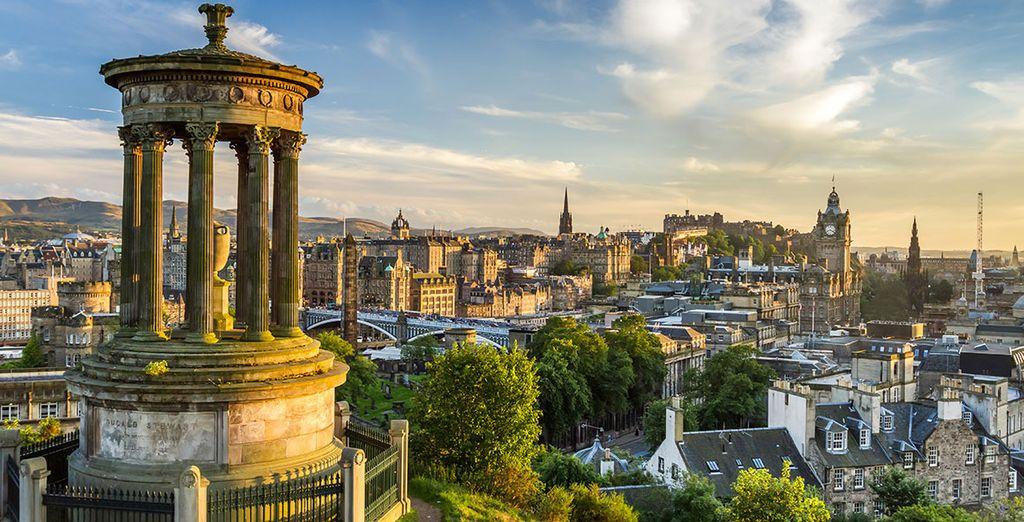 Découvrez Edimbourg, majestueuse ville d'Ecosse