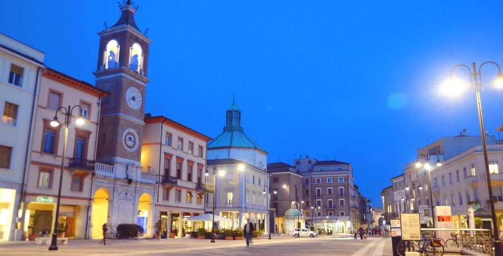 ou visiter la ville de Rimini...