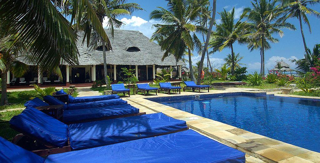 Dont bénéficie l'hôtel The Palms Zanzibar