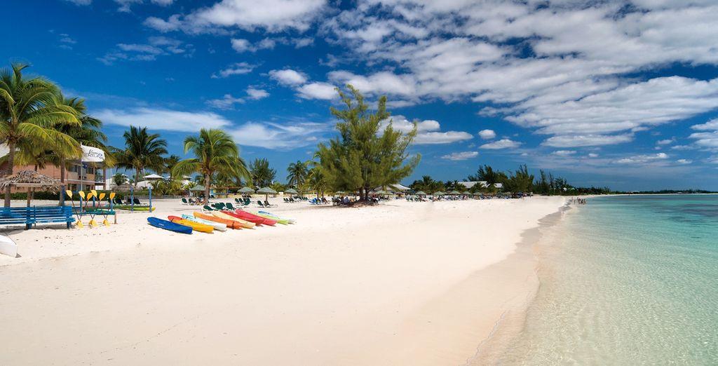 Prélassez-vous sur la plage paradisiaque