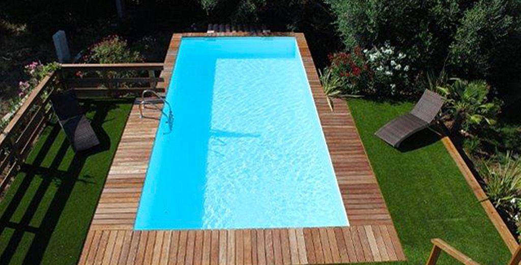 Et découvrez un écrin avec piscine privée