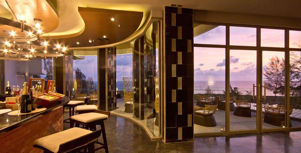 Et les espaces luxeux de cet hôtel 5*