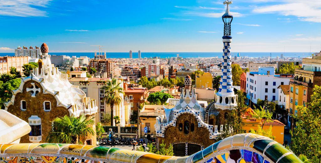 Avant de découvrir les nombreuses merveilles de la capitale catalane