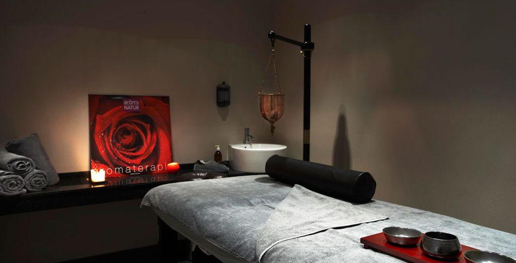 Un salon de massage...