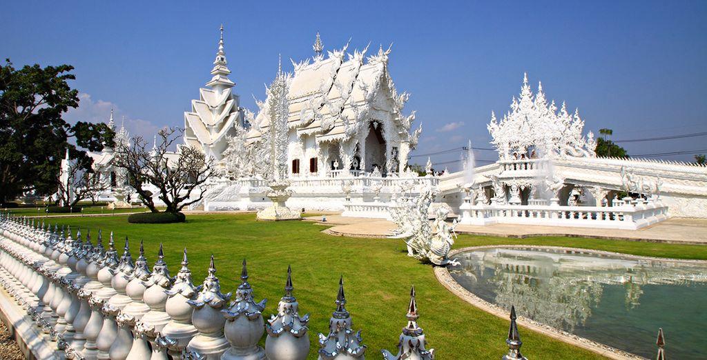 Visitez les plus beaux temples historiques, comme à Chiang Rai