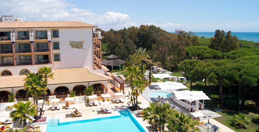 Entouré du vert de la pinède et bordé par les eaux bleues de la Méditerranée - Sensimar Isla Cristina Palace & Spa 5* Isla Cristina
