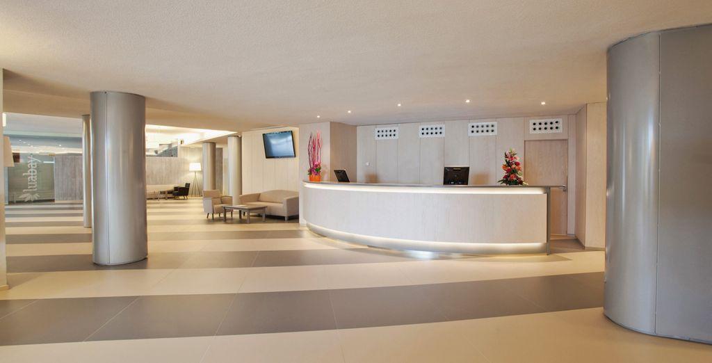 Dans cet hôtel à la décoration résolument moderne