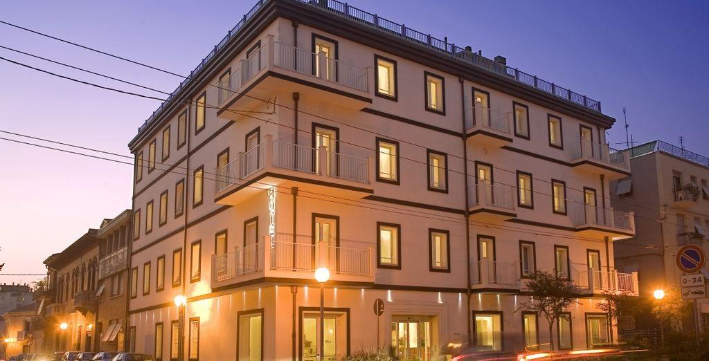 Dans le centre de la ville - Hôtel Card International 4* Rimini