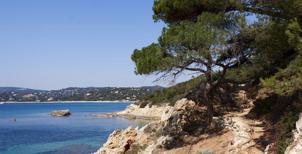 Découvrez les plus beaux paysages de la Côte d'Azur...